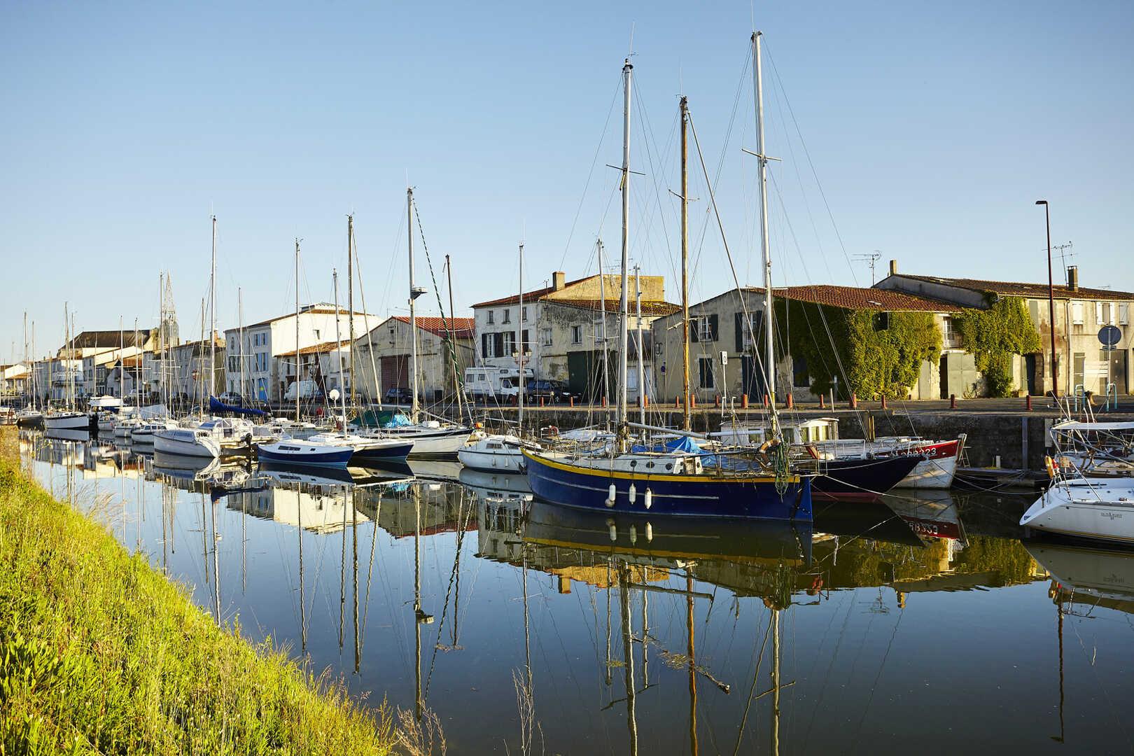 Itineraire Velo Avec Voie Verte Marans La Rochelle La Velodyssee